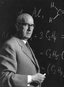 Der Chemiker und Nobelpreisträger Karl Ziegler