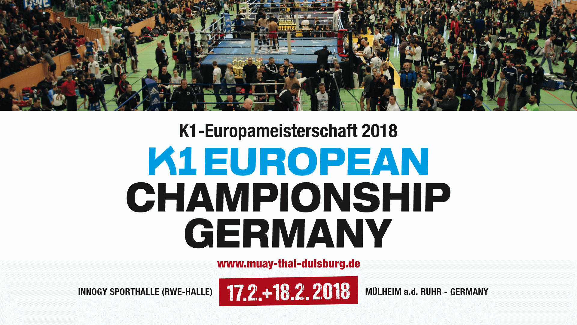 K1 Europameisterschaft 2018