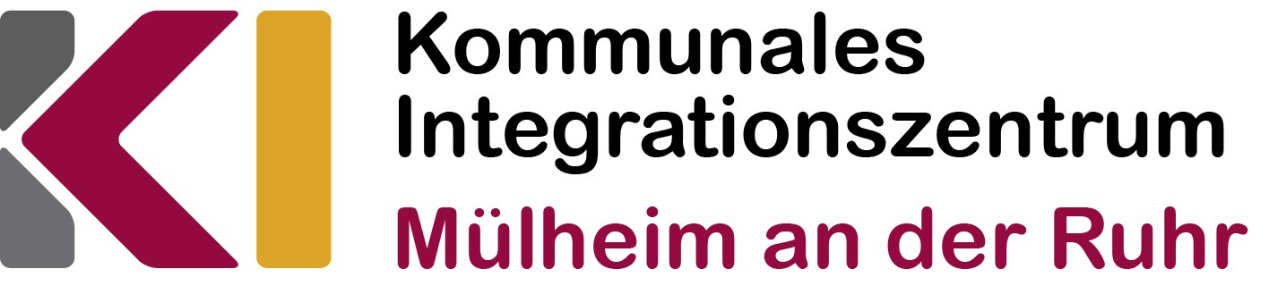 Logo des Kommunalen Integrationszentrums.