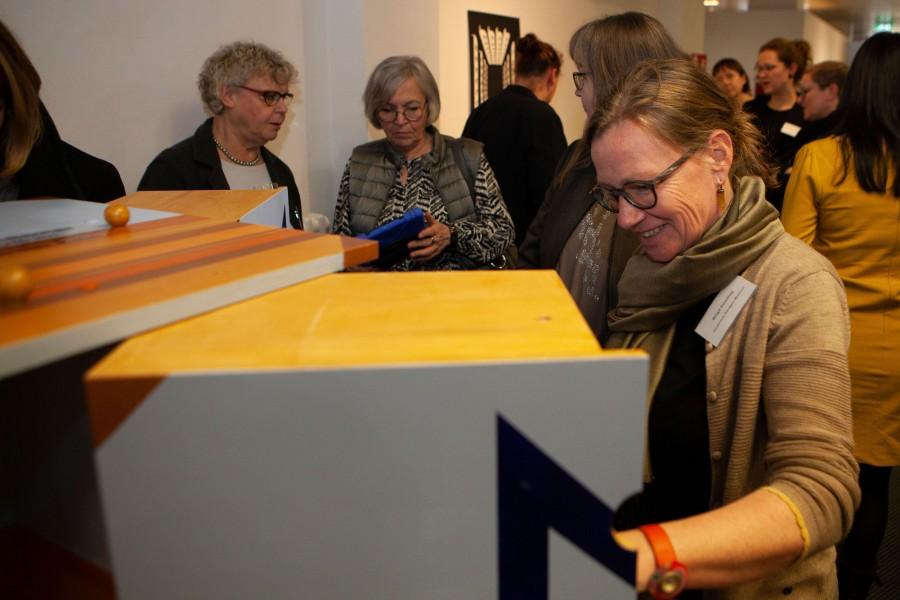 LVR Museumsberatung zu Gast im Kunstmuseum Temporär, Montags geöffnet am 17.2.2020 - Kunstmuseum Mülheim an der Ruhr, Copyright Foto: Nathan Sharon/LVR