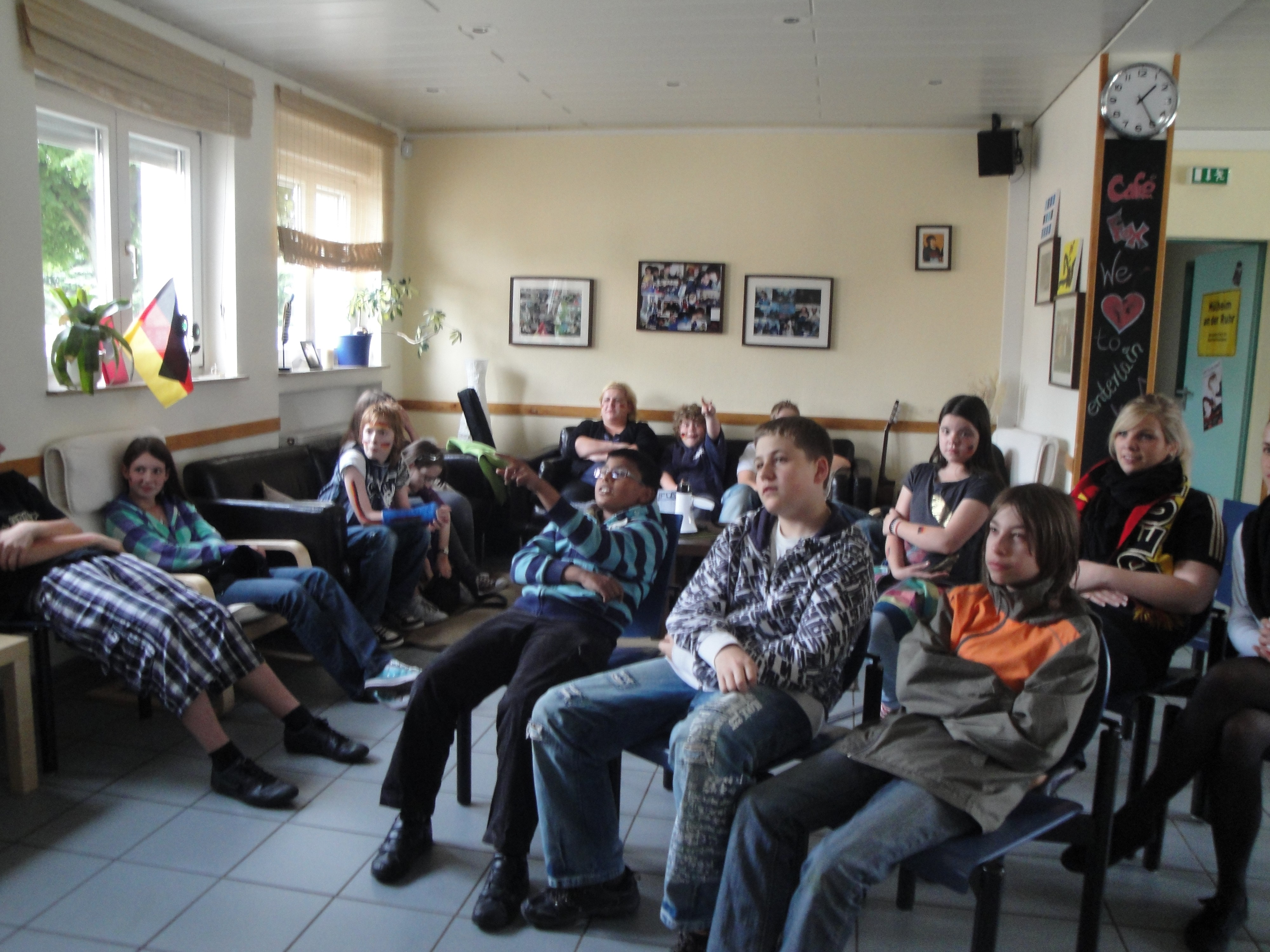 Jugendzentrum Café Fox WM Public Viewing