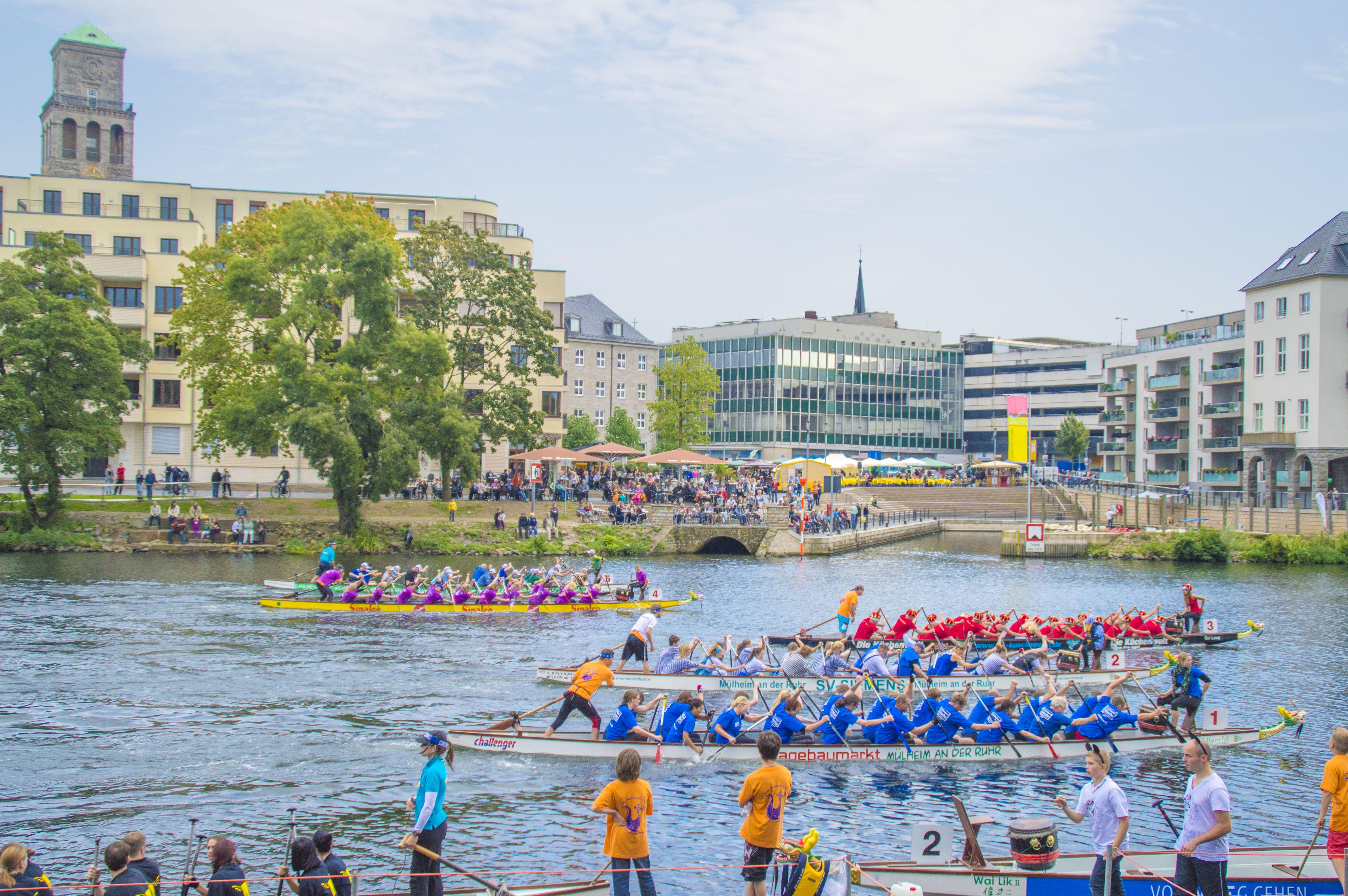 19. Drachenboot-Festival in Mülheim an der Ruhr 2015