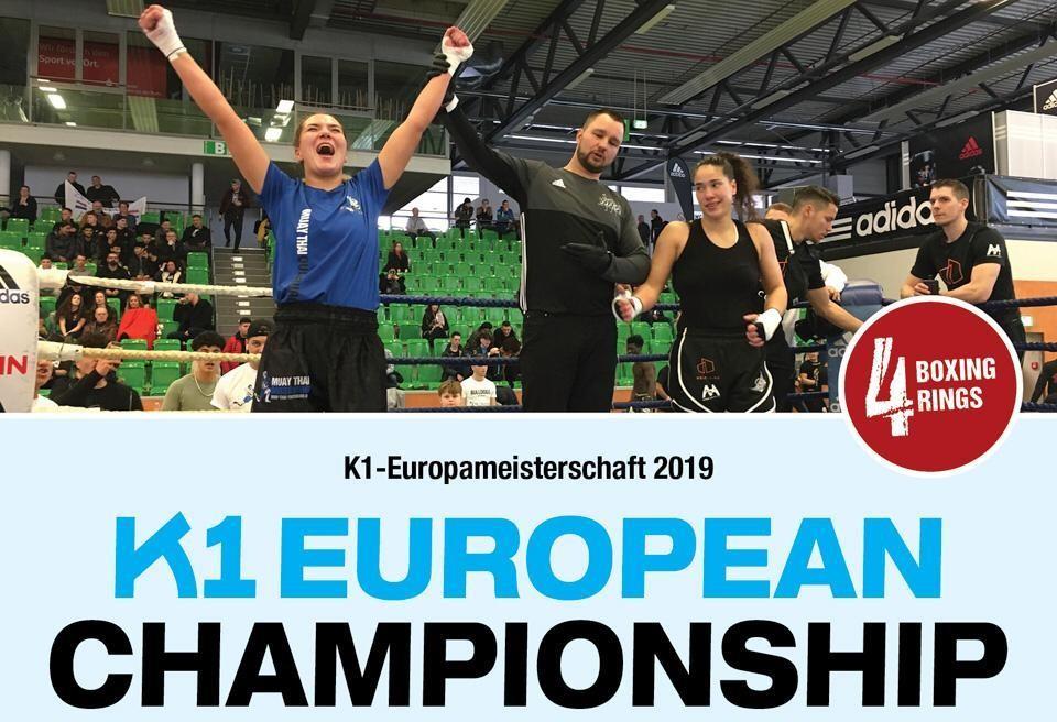 K1 Europameisterschaft 2019