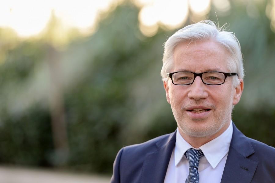 Frank Mendack, Beigeordneter und Stadtkämmerer der Stadt Mülheim an der Ruhr - Walter Schernstein