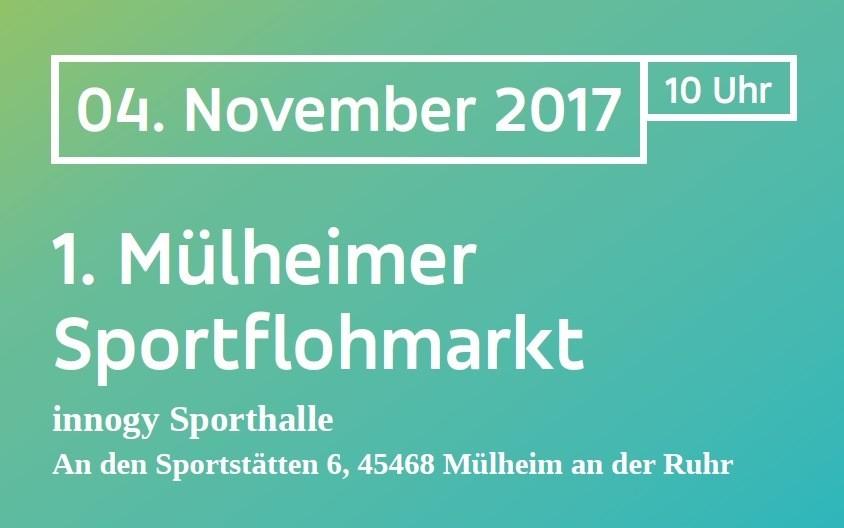 Erster Mülheimer Sportflohmarkt
