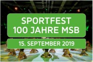 Sportfest 100 Jahre MSB