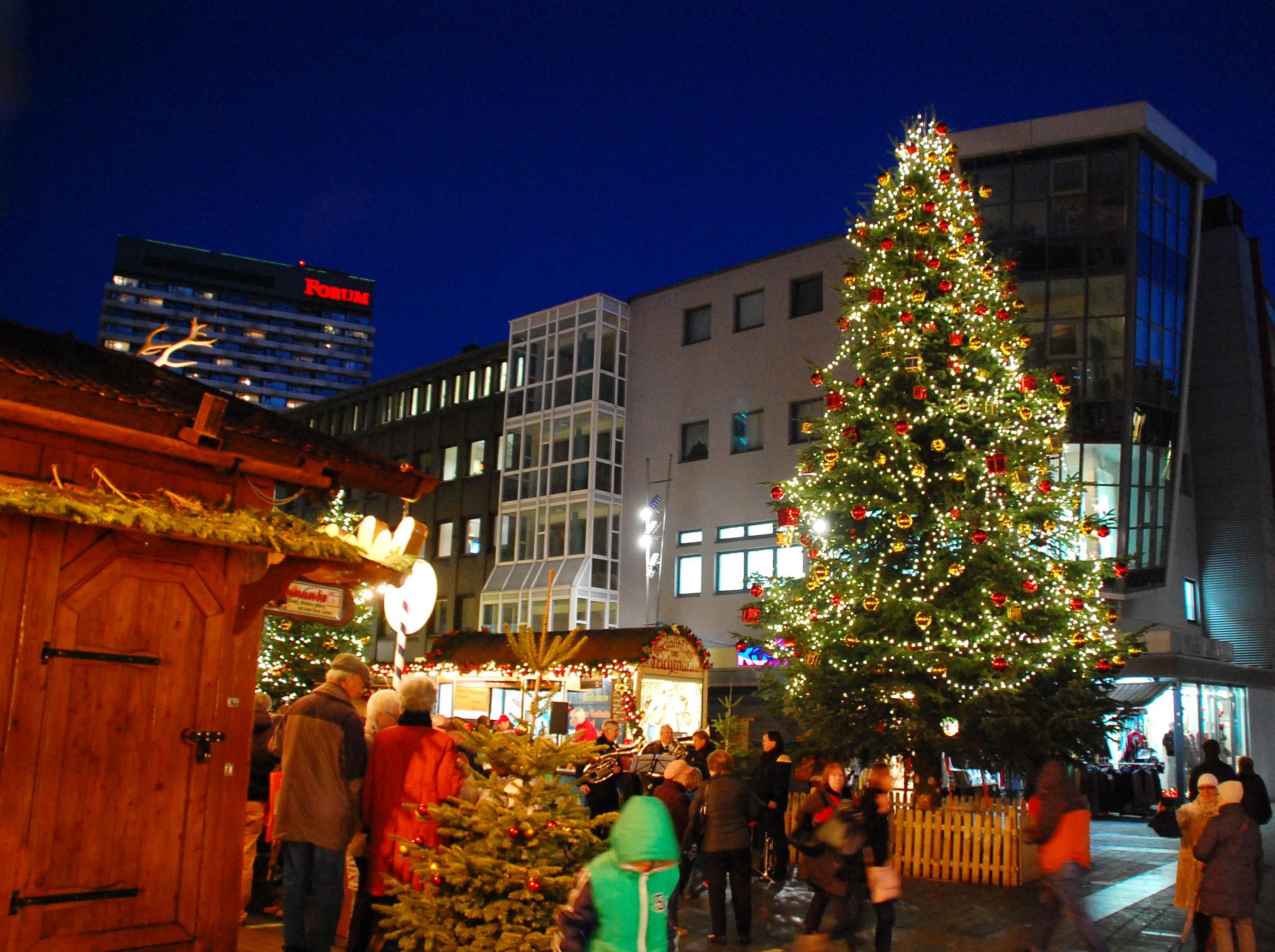 Der Weihnachts-Treff in Mülheim an der Ruhr