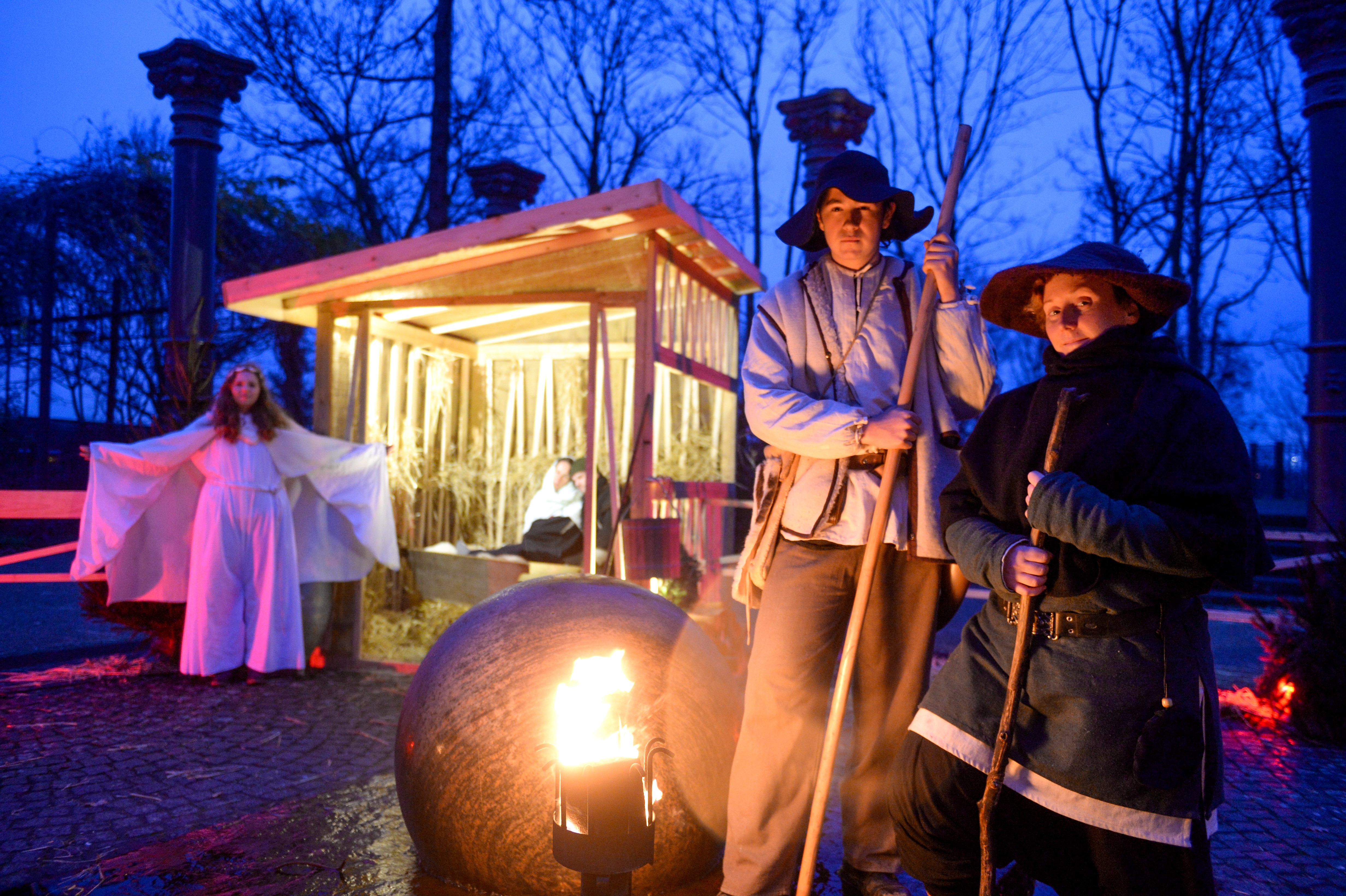 Broicher Schlossweihnacht 2015 - das berühmte Krippenspiel!