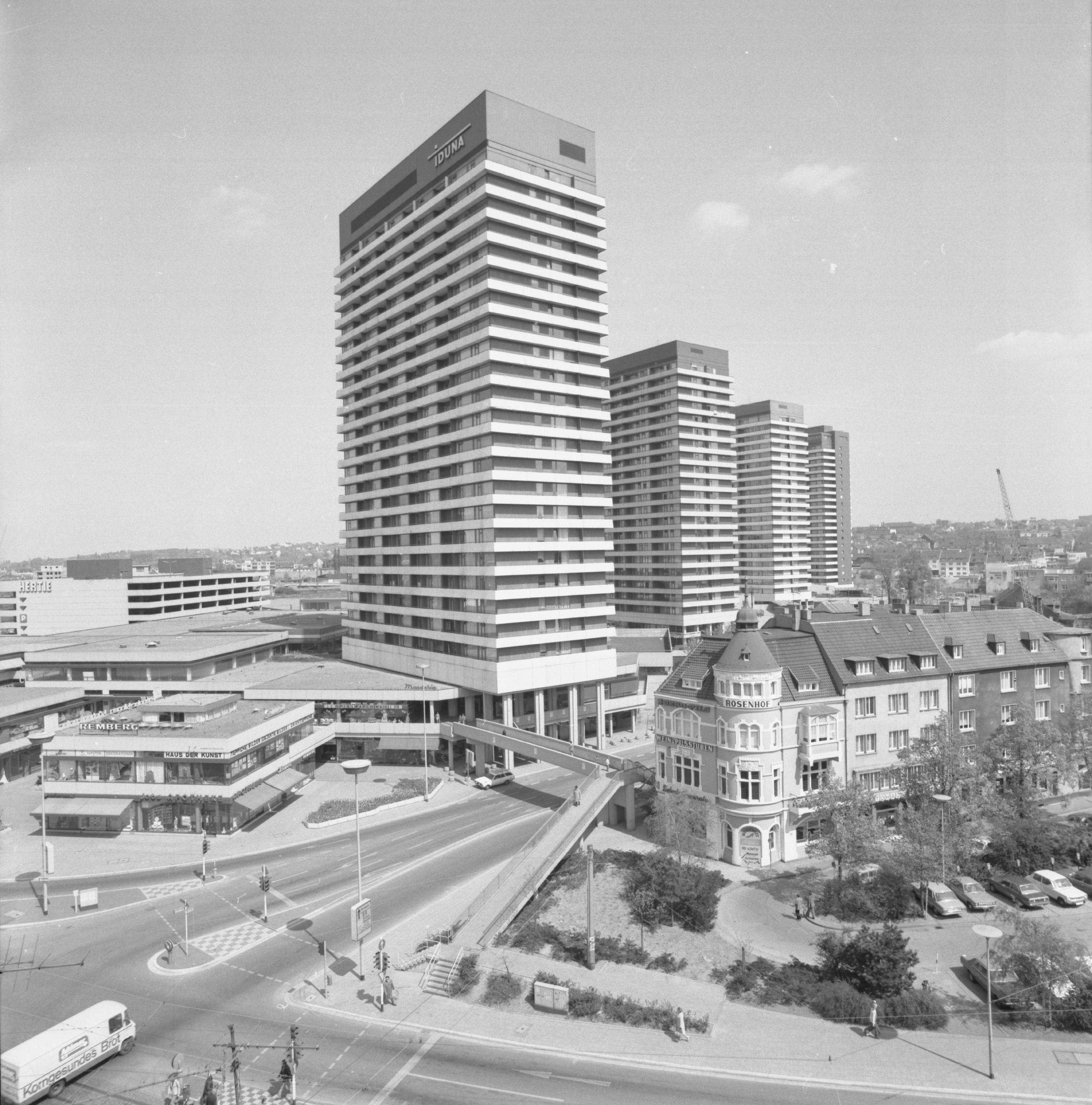 FORUM/City-Center, Mülheim an der Ruhr, 1976 | © Medienkompetenzzentrum, Mülheim an der Ruhr