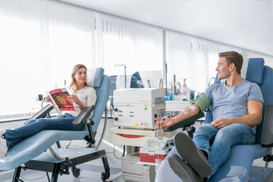 Der DRK-Blutspendedienst West ruft zu Blutspenden auf - DRK-Blutspendedienst West
