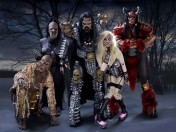 Foto der der finnischen ESC Gewinner-Band LORDI, Melodic Heavy Metal Band, Castle Rock 2020