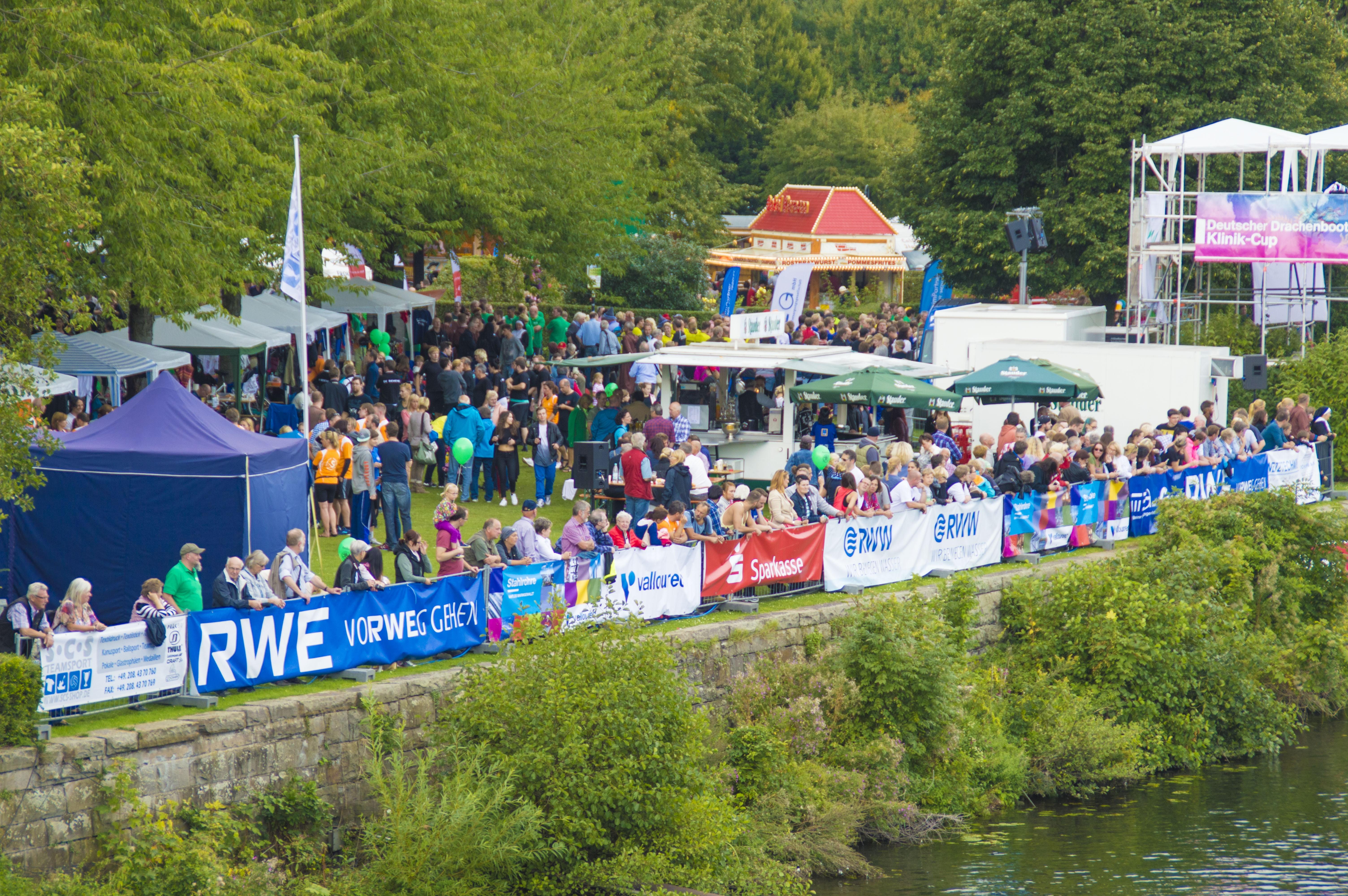 19. Mülheimer Drachenboot-Festival in Mülheim an der Ruhr 2015